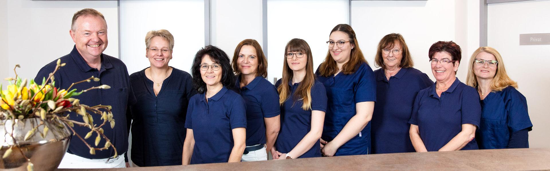 Team der Frauenarztpraxis in Straubing